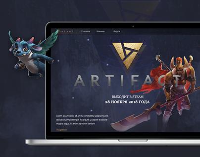 Web design concept | Games forum