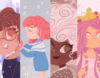 Meninas Ilustradas - Chicas Ilustradas