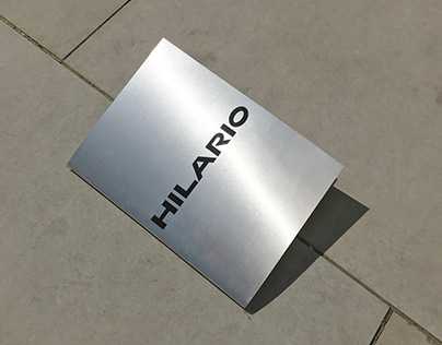 Hilario – Editorial Design & Typeface Design
