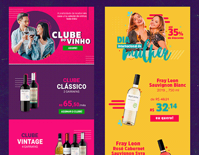 newsletter . 1 /// e-commerce de vinhos
