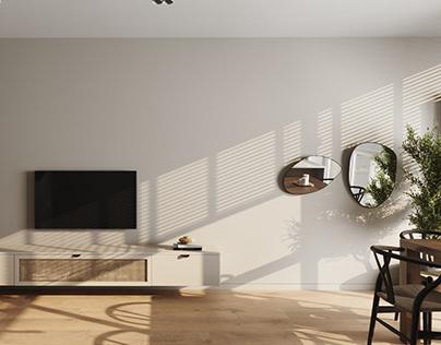 Проект квартиры площадью 84,79 м кв.