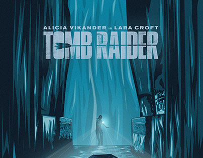 TOMB RAIDER (Illustrated Poster)