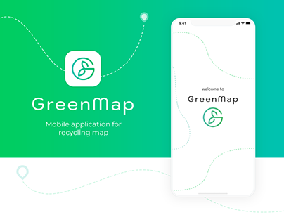 GreenMap - Mobile App For Recycling Map