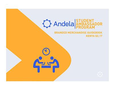 Andela Student Ambassador Designs