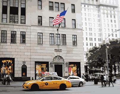 New York City Digital Illustrations