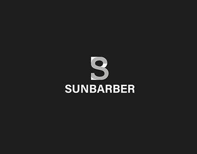 SUNBARBER Brand identity