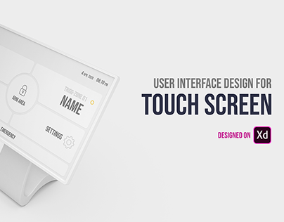 UI Design for Touch Screen