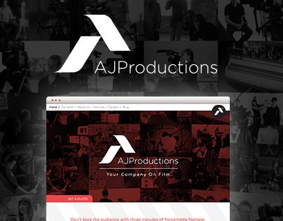 AJ Productions London | Web Design & Branding