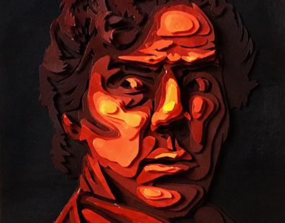 Paper art 3D - Sherlock fanart