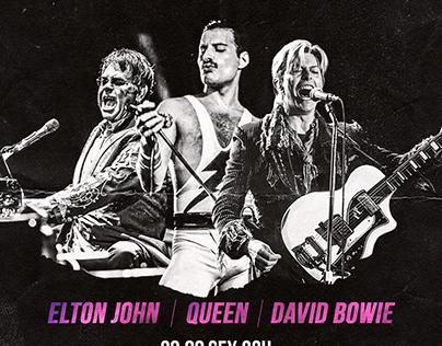 Flyer banda cover Drag Queen