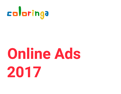 Online Ads Coloringa 2017