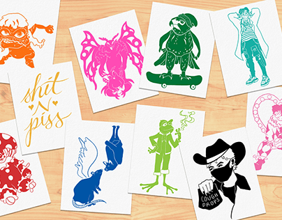 Riso Color Comp Cards (2020)