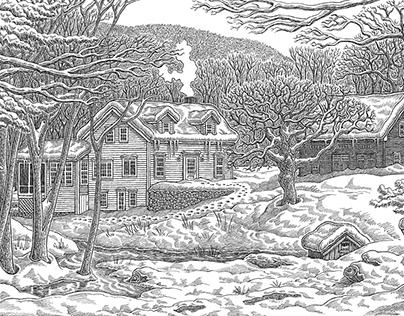 HOUSE PORTRAITS - Vermont