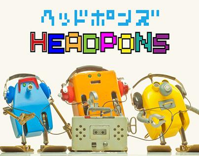 Short Film : Frebots!3_HEADPONS
