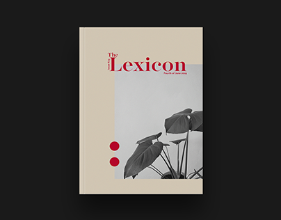 Lexicon Issue 24 Editorial Design