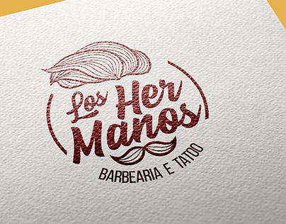 Logo Los Hemanos Barbearia