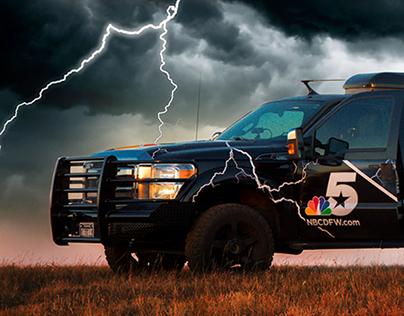 Thunder & Lightning - NBC 5 Image Campaign