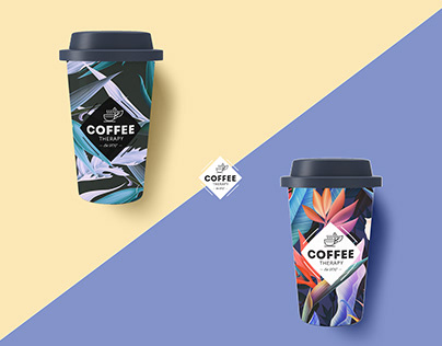 Coffee Therapy Branding