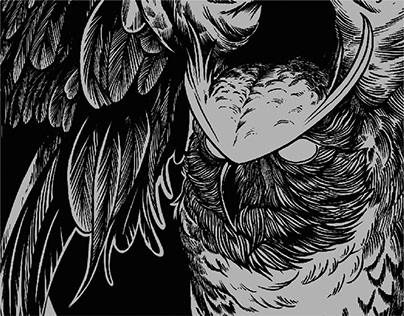 The Owl · Aeonsclothing · T-shirt Illustration