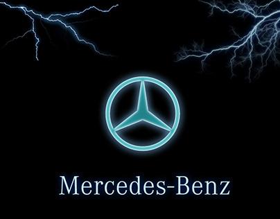 Mercedes Benz social media design