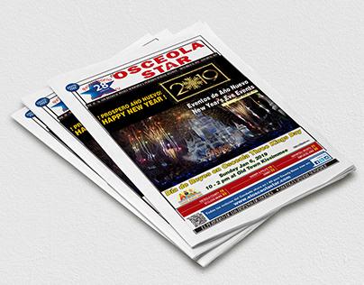 EDITORIAL DESIGN | OSCEOLA STAR NEWSPAPER