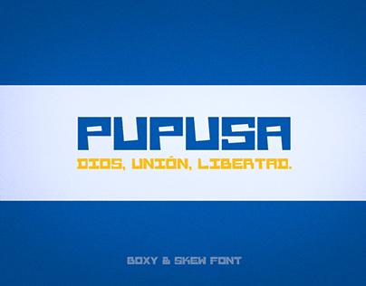 Pupusa Free Font
