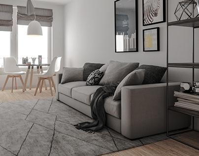 Living Room - CGI