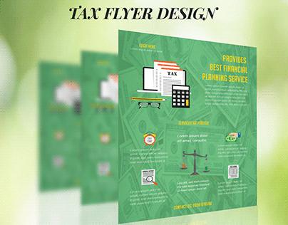 TAX FLYER DESIGN