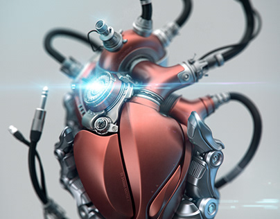 Engine your Heart! 3D/CGI by Aleksandr Kuskov