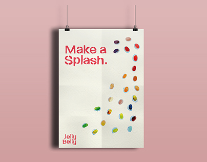 Jelly Belly Take a Splash Ad Campaign