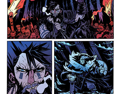 'The Spider King' pages