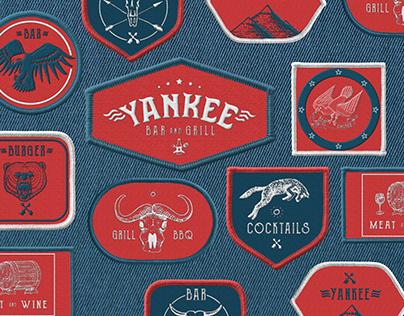 YANKEE Bar&grill - Branding