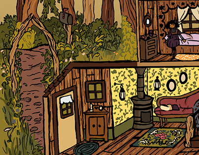 branch cabin