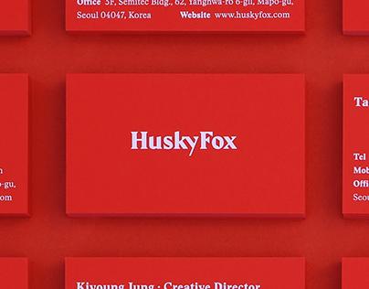 HuskyFox Identity Design