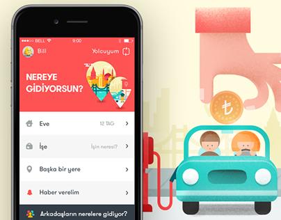 """TAG"" Mobile App Design"