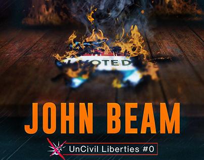 Uncivil Liberties Book Series Cover Design