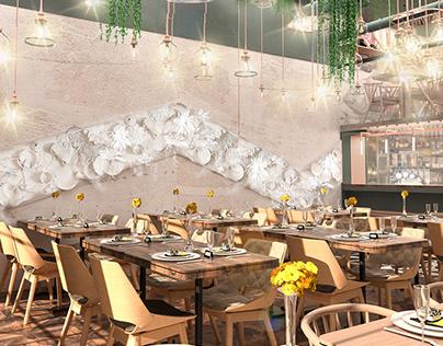 Fish restaurant design