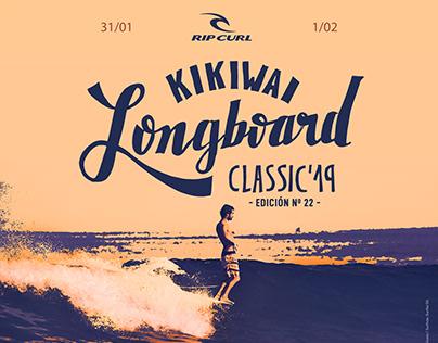 FLYER KIKIWAI LONGBOARD CLASSIC - Lettering