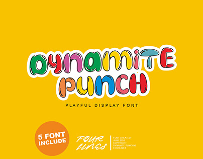 Dynamite Punch // Display Font
