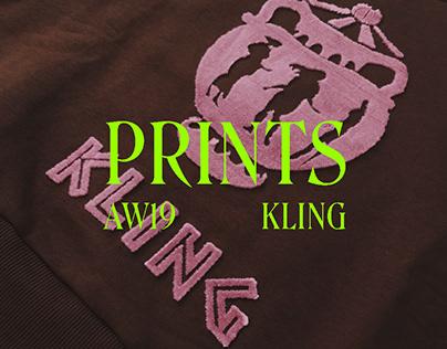 Prints AW19 for Kling