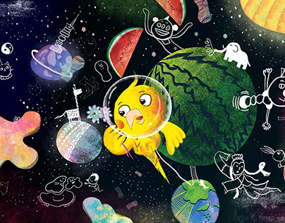 漫遊上太空 Outer space adventure