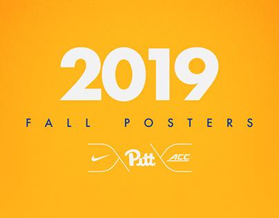 Pitt Athletics - 2019 Fall Posters