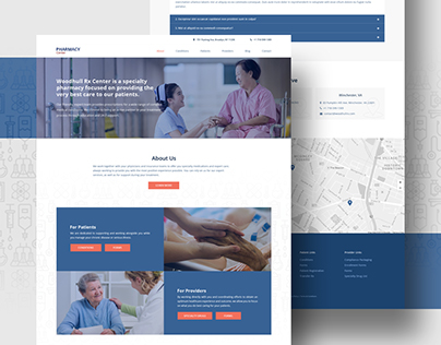 Pharmacy Center - Web Design
