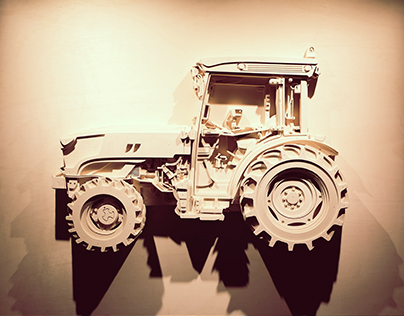 AGAMY // Wood Tractor