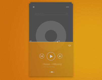 Daily UI Challenge 1: Music App