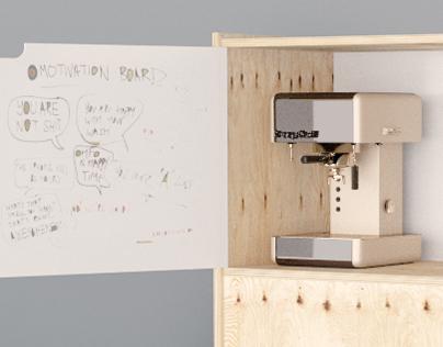 Plywood Coffee-spot