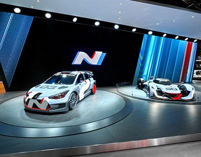 Hyundai New Booth Design