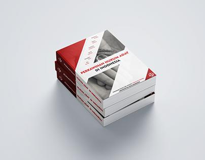 """Book Cover """"Perkawinan Hukum Adat"""""""