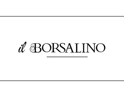 il Borsalino Brand Id + Menu