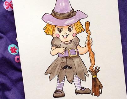 Inktober 2015 (Costumes for Halloween)